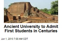 Ancient University to Admit First Students in Centuries