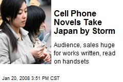 Cell Phone Novels Take Japan by Storm