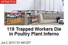 55 Trapped Workers Die in Poultry Plant Blaze