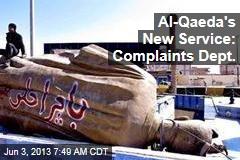 Al-Qaeda's New Service: Complaints Dept.