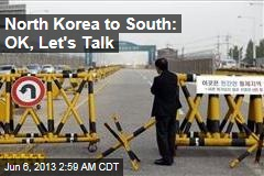 Koreas Poised for Talks on Industrial Zone