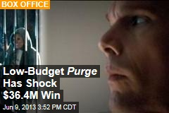 Low-Budget Purge Beats Internship
