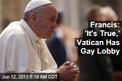 Pope Complains About Vatican 'Gay Lobby'