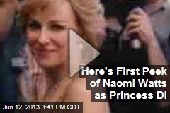 Trailer Shows Naomi Watts as Princess Diana