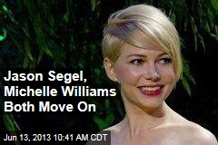 Jason Segel, Michelle Williams Both Move On