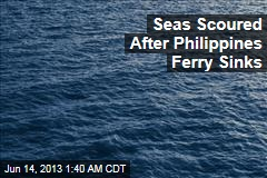 2 Dead, 41 Saved as Philippines Ferry Sinks