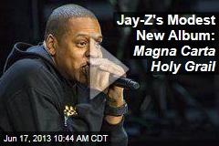 Jay-Z Announces 'Magna Carta' in Samsung Ad