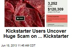 Kickstarter Users Uncover Huge Scam on ... Kickstarter