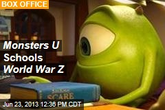 Monsters U Schools World War Z