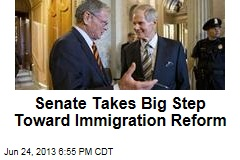 Senate Takes Big Step Toward Immigration Reform