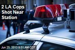 2 LA Cops Shot Near Station