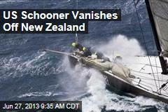 US Schooner Vanishes Off New Zealand