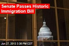 Senate Poised to Pass Historic Immigration Bill