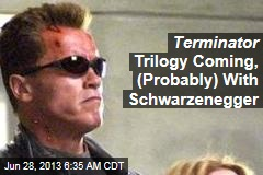 Terminator Trilogy Coming, (Probably) With Schwarzenegger