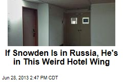 If Snowden Is in Russia, He's in This Weird Hotel Wing