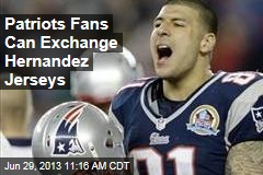 Patriots Fans Can Exchange Hernandez Jerseys