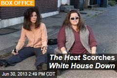 The Heat Scorches White House Down