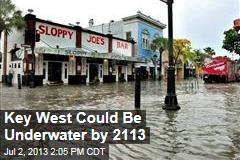 Key West Could Be Underwater by 2113