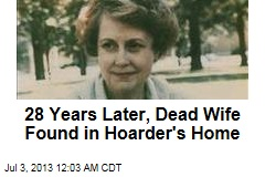 Dead Wife Found in Hoarder's Home—27 Years On
