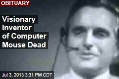 Visionary Inventor of Computer Mouse Dead