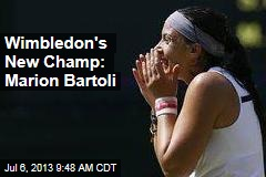Wimbledon's New Champ: Marion Bartoli
