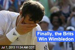 Finally, the Brits Win Wimbledon