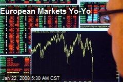 European Markets Yo-Yo