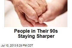 People in Their 90s Staying Sharper