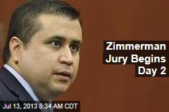 Zimmerman Jury Begins Day 2