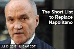 The Short List to Replace Napolitano
