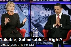 'Likable, Schmikable'... Right?