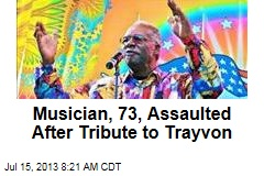 Musician, 73, Assaulted After Tribute to Trayvon