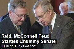 Reid, McConnell Feud Startles Chummy Senate