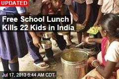 8 Kids Dead, 80 Sick From School Lunch in India