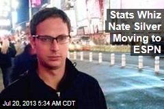 Stats Whiz Nate Silver Moving to ESPN