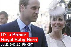 It's a Prince: Royal Baby Born