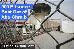 Suicide Bombers Blast Al-Qaeda Militants Out of Abu Ghraib