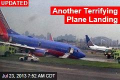 Another Terrifying Plane Landing