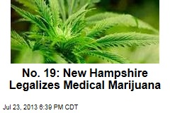 No. 19: New Hampshire Legalizes Medical Marijuana