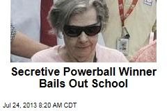 Secretive Powerball Winner Bails Out School