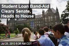 Student Loan Band-Aid Clears Senate, Heads to House
