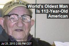 World's Oldest Man Is 112-Year-Old American