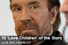 10 'Love Children' of the Stars