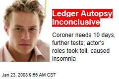 Ledger Autopsy Inconclusive