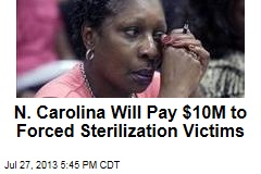 N. Carolina Will Pay $10M to Forced Sterilization Victims