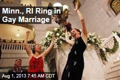 Wedding Bells Ring as Minnesota, RI Bring in Gay Marriage