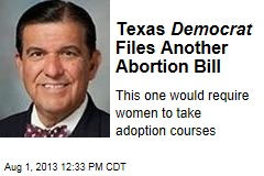 Texas Democrat Files Another Abortion Bill