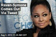 Raven-Symone Comes Out Via Tweet