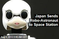 Talking Robot Headed for Space Station