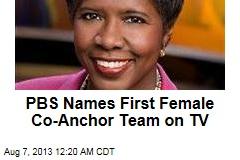 PBS Names First Female Co-Anchor Team on TV